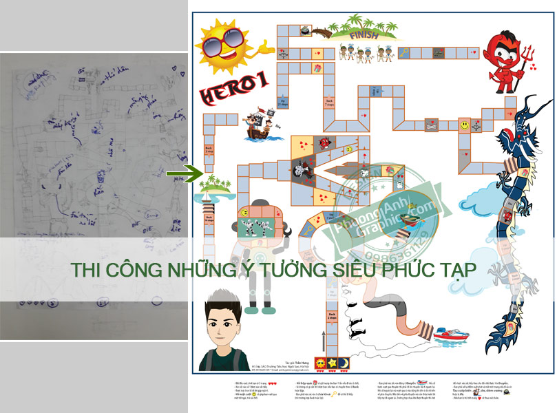 thi cong y tuong ve 2d